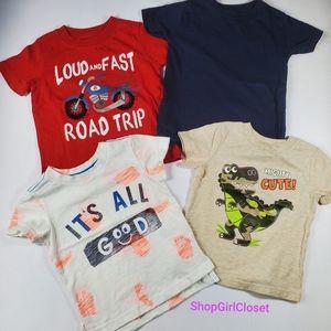 💥Just In💥 4pc Tshirt Bundle Boys 12M